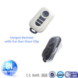Remote en gros Garage Keyless Entry Duplicator avec Unique Car Sunvisor Clip Design