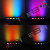무선 건전지 소형 LED 벽 세탁기 바 단계 빛