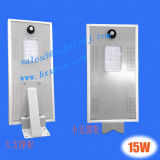 6W All in One Solar Street Light with Lithium Battery 12.8V 4ah