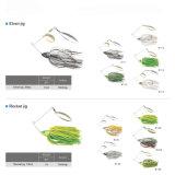 Vente en gros Cheap Silicone Skirt Spinner Bait Jig Fishing Lure