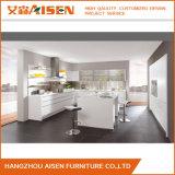Limpeza fácil lustrosa elevada luxuosa do gabinete de cozinha da laca