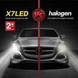 L'automobile del CREE di più alta luminosità X7 9004 60W 9600lm parte il faro del LED