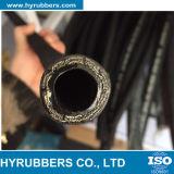 Norme 2sn d'en 853 DIN boyau hydraulique tressé de fil de 2 couches