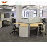최신 영업소 가구 워크 스테이션 모듈 컴퓨터 책상 (HY-2816)