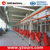 Cabine automatique/manuelle d'enduit de soufflage de sable pour l'industrie métallurgique