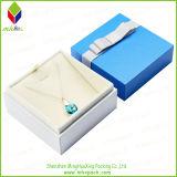 Коробка 100% ювелирных изделий подарка качества бумажная для ожерелья