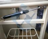 Edelstahl-Baby-Krankenpflege-Laufkatze-Säuglingskrankenhaus-Bett mit Fußrollen