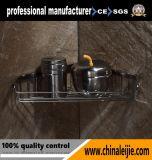 Роскошное вспомогательное оборудование ванной комнаты корзины угла нержавеющей стали высокого качества