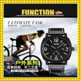 Montre de sport de Pedometer d'arrêt de forme physique de chronographe