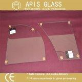シャンプーのための8mmの壁のコーナーの棚によって強くされるガラス
