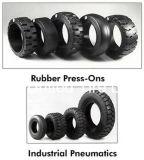 Pneumatischer industrieller Gabelstapler-Gummireifen mit Gefäßen