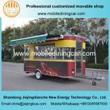 Camion mobile électrique de nourriture de type de fruits de mer de la bonne qualité 2017 avec le matériel d'Opyional