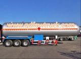 Hete Verkoop! 40-60 Cbm de Aanhangwagen van de Tanker van LPG