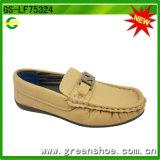 2016 chaussures occasionnelles plates de vente chaudes pour l'enfant (GS-LF75324)