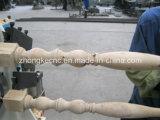 Máquina de trituração do CNC da madeira do corrimão da escada