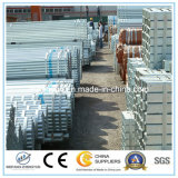 Quadratischer Rohr-Zaun-Pfosten für Aufbau
