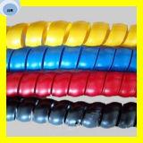 Protecteur en plastique spiralé coloré de boyau de Hudraulic de butoir de boyau de la qualité de la meilleure qualité PP/PVC/PE/HDPE