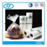 Мешки еды продукции пользы супермаркета плоские на бумажном сердечнике