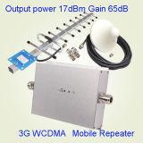 WCDMA 3G de Zender van de Band van de Repeater 2100MHz en Spanningsverhoger van het Signaal van de Ontvanger de Mobiele