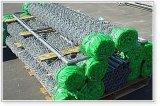 Rete fissa di collegamento Chain del foro del diamante del PVC ricoperta o galvanizzata