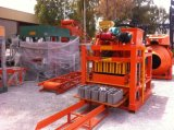 Bloc creux concret semi-automatique de Qtj4-26c effectuant la machine