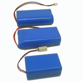 AAA 7.2V 650mAh Ni MH Battery Pack Long Cycle Life Battery