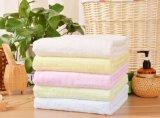 贅沢なタオルは600のGSMの100%年の綿の浴室手タオルをセットした