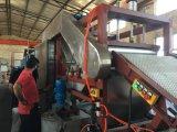 Máquina de enfriamiento de la hoja de goma con técnico maduro
