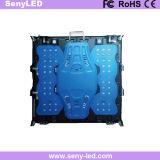 Tela interna do diodo emissor de luz da cor cheia da parede do indicador do fundo de estágio P5 (640MMX640mm morrem o alumínio de carcaça)