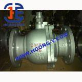 Válvula de esfera elétrica do aço de molde de API/DIN/flange de Wcb
