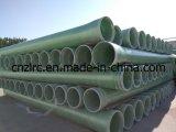 Pipe élevée de fibre de verre de pipe de la pipe GRP de Strengh FRP