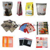 パックのResealableプラスチックジッパーの食品包装袋を立てなさい