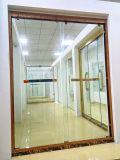 Pièce de douche en verre de Rose d'or de Stiamless de bâti en acier de douche de pièce jointe d'écran de compartiment de luxe de douche