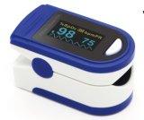Oxímetro de pulso de dedo e de OLED certificado com Ce e FDA com alarme
