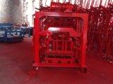 Usines de machine Semi-Automatiques du bloc Qt4-40 concret avec la capacité productive 12000PCS/Day