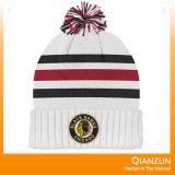 Шлемы вышивки зимы акриловым связанные логосом
