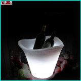 Mesa de luz de casamento Mesa de luz de LED Geladeira de caixa de gelo com cabide