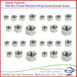 탄소 강철, 종류 4.8-12.9 DIN980 All-Metal 육 견과를 가진 DIN ANSI Gn를 위한 스테인리스 육 견과