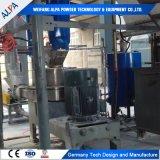 Machine d'enduit de surface de poudre de fluorine