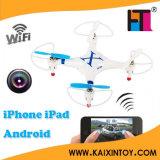 Nuevo Cheerson Cx-30W para iPhone/iPad/Android Fpv WiFi Control Quadcopter 2.4G 6 Axis Drones con Camera HD