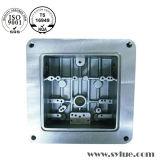 Части алюминия подвергая механической обработке для автоматической, электронной, механически индустрии