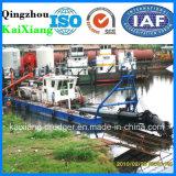 金の浚渫のための油圧カッターの吸引の浚渫船