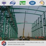 Gruppo di lavoro prefabbricato della struttura d'acciaio della colonna di sezione di Latice
