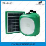 이동 전화 충전기 긴 점화 시간 동안 리튬 건전지에서 건축되는 태양 LED 벽 램프를 가진 휴대용 태양 손전등