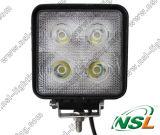 IP67 super helles LED Arbeitsarbeits-Licht 24volt des licht-40W 4 Selbst-LED des Zoll-