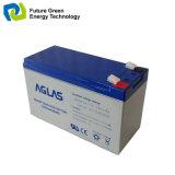 12V7ah Solar-VRLA AGM gedichtete Leitungskabel-saure Speicherbatterie für UPS
