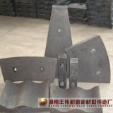 Alto trazador de líneas del acero de manganeso para los molinos de bola