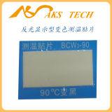 Contrôle thermique auto-adhésif de température élevée de papier de changement de couleur