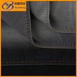 Ткани джинсовой ткани джинсыов Elastane супер мягкого Ladie цвета Handfeel черного