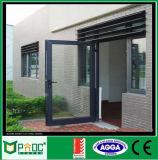 Puerta de oscilación del diseño de la puerta principal de Pnoc080222ls con el certificado estándar australiano